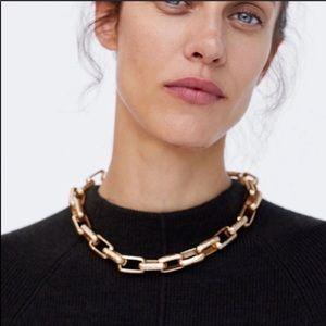 Zara Gold Statement Necklace/Choker